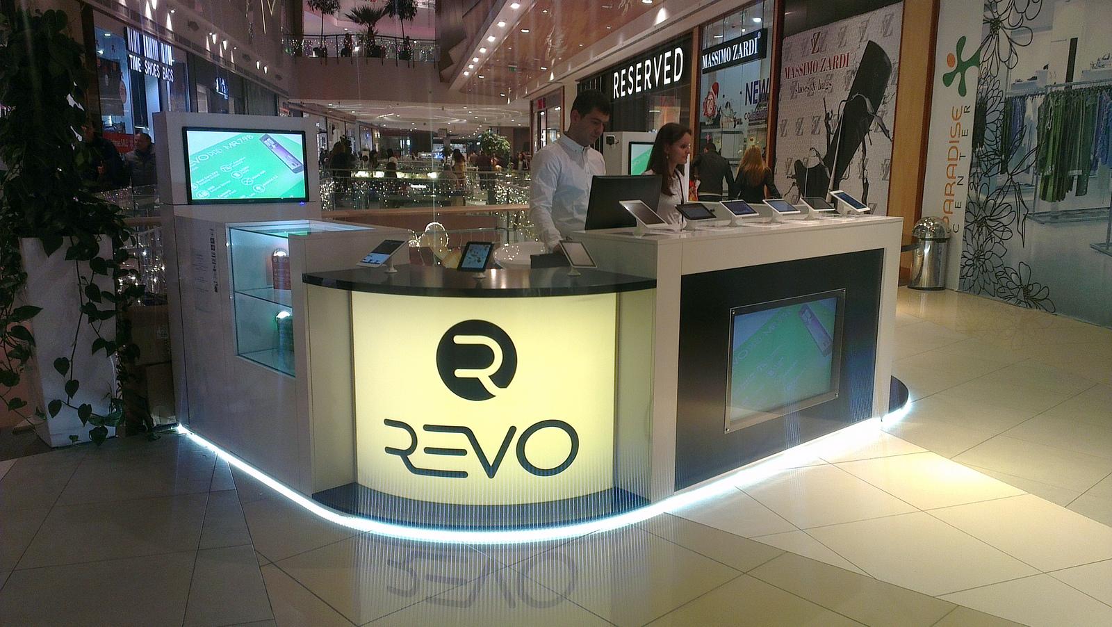 REVOPad магазин в Парадайс Мол София