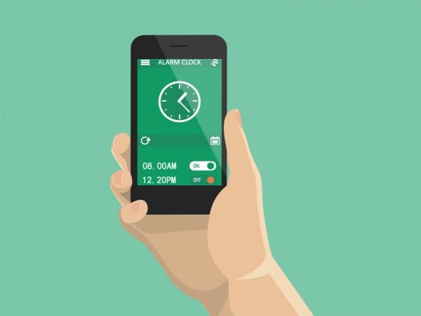 Как да използваме бутоните за звук, за да спираме алармата си